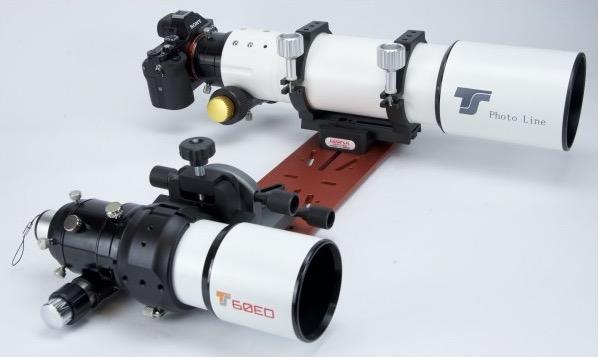 GK-5: Angolare a 2 assi per guidare micrometricamente il telescopio guida
