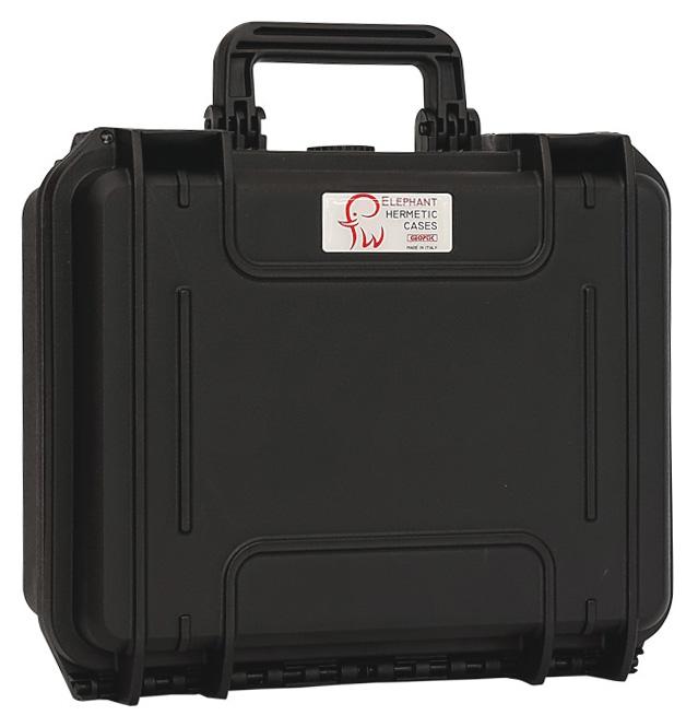 Valigia Ermetica Elephant Case Media, spugne comprese. Dimensioni interne : 430 x 290 x 160 mm
