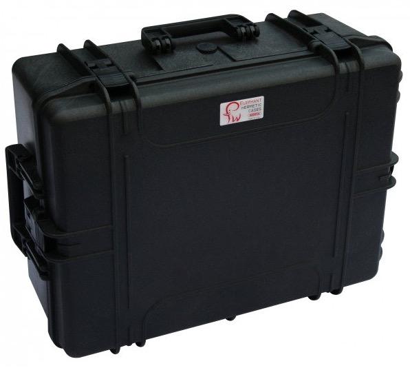 """Valigia Ermetica Elephant Case modello Giga 2, spugne comprese, per riporre il tubo ottico Celestron 8"""". Dimensioni interne : 540 x 405 x 245 mm"""