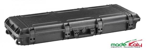 Valigia Ermetica, spugne bugnate comprese. Dimensioni interne : 1100 x 370 x H140 mm