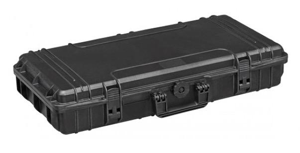 Valigia Ermetica, spugne cubettate comprese. Dimensioni interne : 800 x 370 x H140 mm