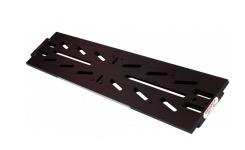 Slitta Losmandy con sagome per tubi ottici con diametro da 200 a 350 mm di colore nero
