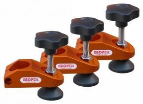 Piedini regolabili con viti di livellamento per treppiede, si adatta alla montature Skywatcher EQ6 , Celestron CGEM , Meade LX90 e LX200