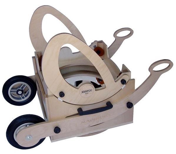 """Sistema di trasporto con ruote per Dobson Nadirus 12"""" e 16"""""""