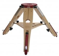 Treppiede in legno Hercules altezza 47 cm - carico massimo 100 Kg