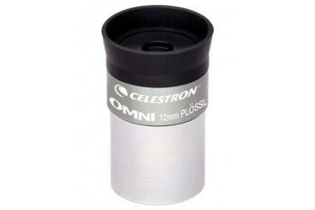 oculare ortoscopico Omni Plossl - 12.5mm - estrazione pupillare 8mm - campo apparente 50°