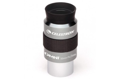oculare ortoscopico Omni Plossl - 32mm - estrazione pupillare 20mm - campo apparente 50°