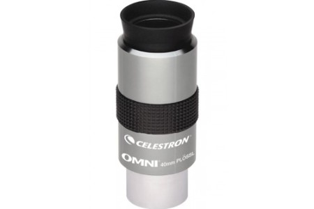 oculare ortoscopico Omni Plossl - 40mm - estrazione pupillare 22mm - campo apparente 50°