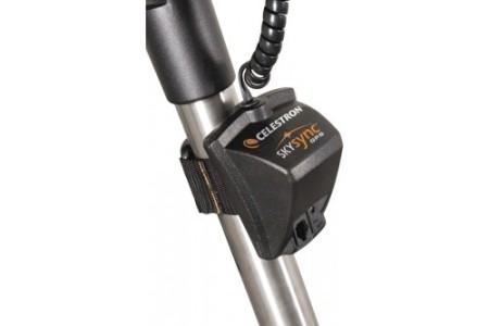 Il modulo ricevitore SkySync GPS fornisce ai telescopi Celestron compatibili i dati iniziali necessari per eseguire l'allineamento dello strumento.