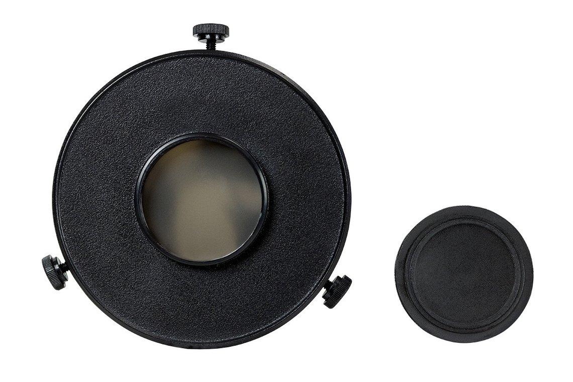 Filtro solare EclipSmart per tubi ottici Celestron da 70mm di diametro