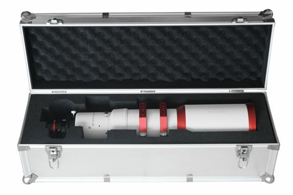 Rifrattore apocromatico in FPL-53 da 104mm e 650mm di focale, f/6,25 - spianatore a 2 elementi