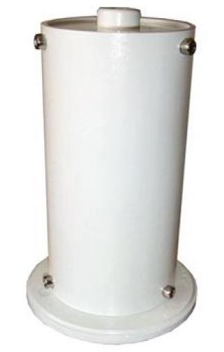La mezza colonna per EQ6 serve per sollevare la montatura e ne mantiene inalterata la stabilità