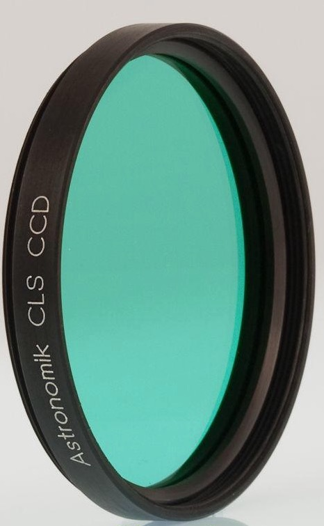 Filtro Astronomik ASCLSCCD2– CLS CCD - diametro 50,8mm montato in cella