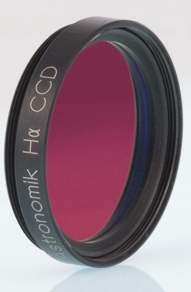 Filtro H-alpha (ASHA12nm1) da 12nm, diametro 31.8mm, per CCD