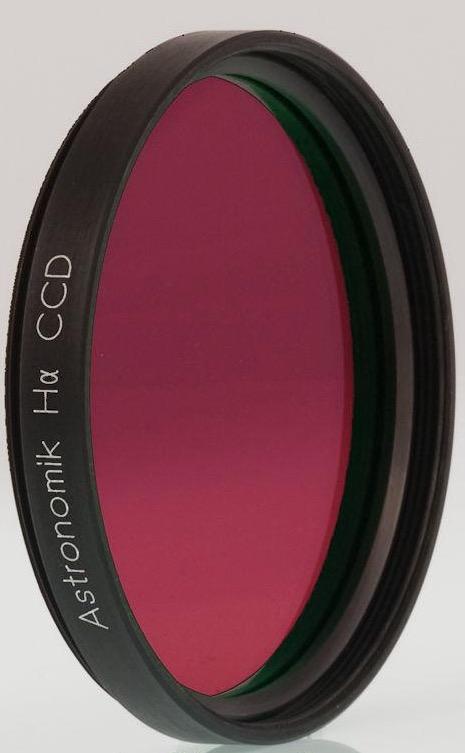Filtro H-alpha (ASHA12nm2)da 12nm, diametro 50.8mm, per CCD