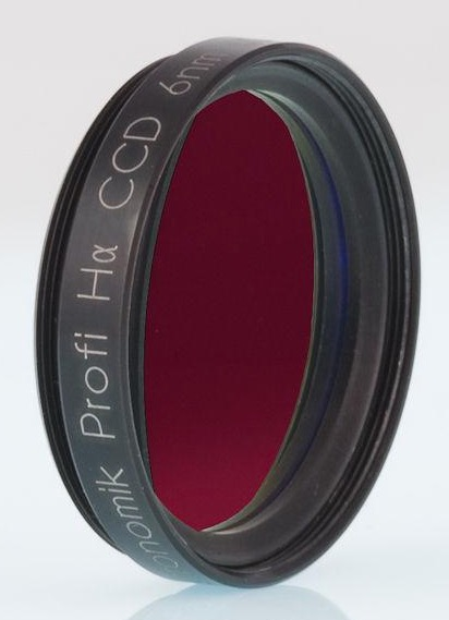 Filtro H-alpha da 6nm, diametro 31.8mm, per CCD