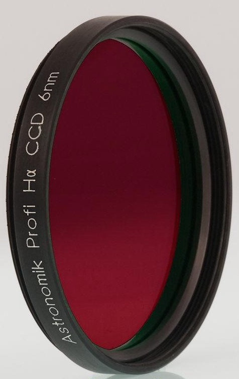 Filtro H-alpha ASHA6nm2 da 6nm, diametro 50.8mm, per CCD