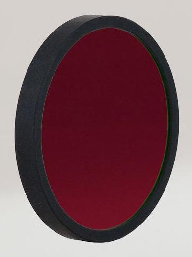 Filtro H-alpha ASHA12NMCCD36da 12nm, diametro 36mm, per CCD - non montato in cella con anello di protezione