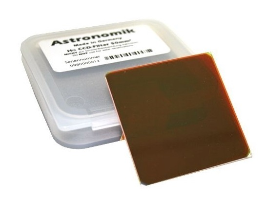 Filtro H-alpha da 6nm, diametro 50x50mm, per CCD, non montato in cella