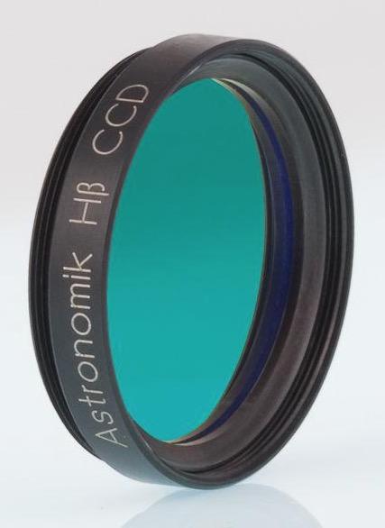 Filtro H-beta a banda stretta da 12nm, diametro 31.8mm, per CCD, montato in cella