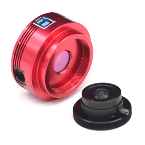 ASI 120 MM Mono - camera USB 3.0 - obiettivo T2 da 2,1mm - per riprese planetarie e autoguida