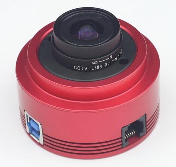 ZW Optical ASI224MC USB3.0 Camera Astronomica a colori - Sensore CMOS 1.2 MP - per riprese planetarie e autoguida