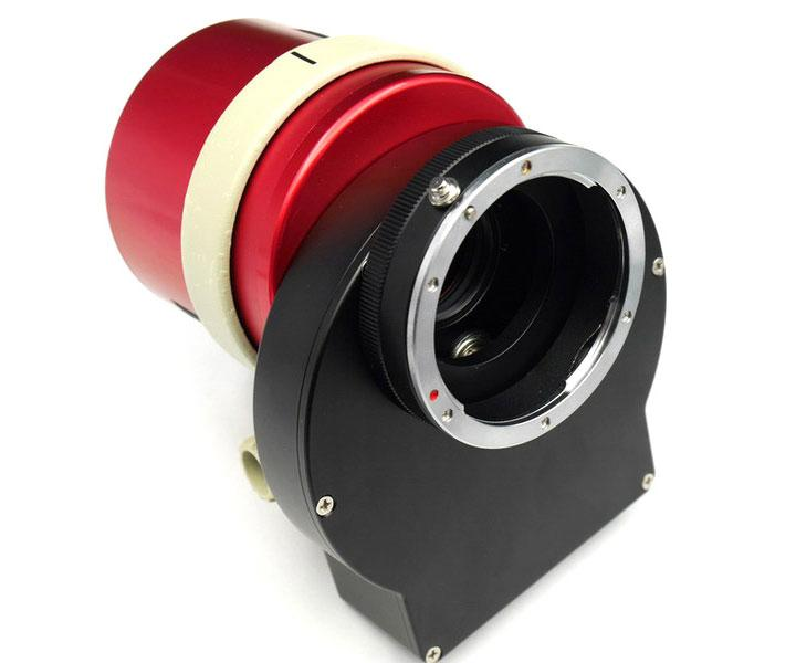 ZWO Canon EOS Lens Adapter for filter wheel and ASI 1600 camera [EN]