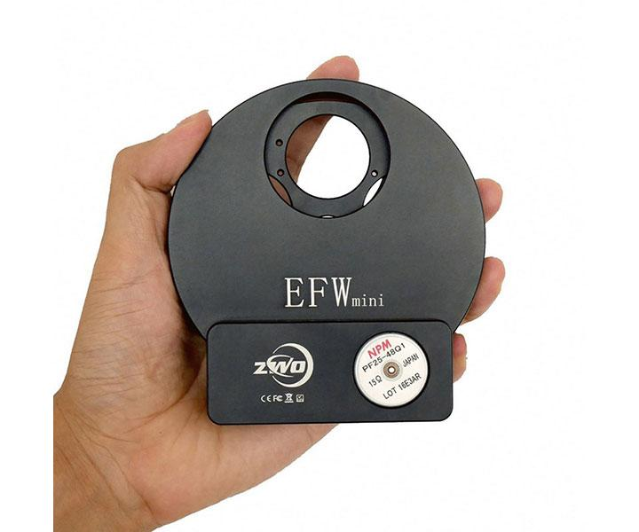 "ZWO motorised Filter Wheel for 5x 1.25"" or 5x 31 mm filters [EN]"