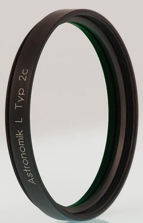Filtro Astronomik Luminanza UV-IR Block, serie L per l'imaging LRGB da 50,8mm