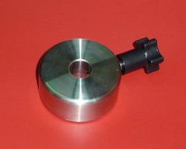 Contrappeso aggiuntivo 0.55 Kg per montatura Avalon M-Uno - diametro 60 - foro 16 - spessore 30 in acciaio inox