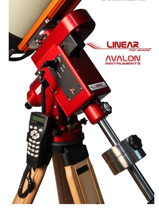 """Montatura Equatoriale, tecnologia Fast-Reverse, completa di: Goto Synscan, Dove-tail 3"""" (peso 13 Kg), Cann. polare, barra e contrappeso inox 6 Kg (compatibile con treppiedi Avalon T-POD, Hercules e SW)"""