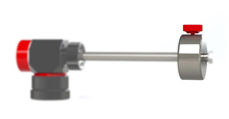 Contrappeso in acciaio inox da 1Kg per montatura altazimutale AZT6-GR