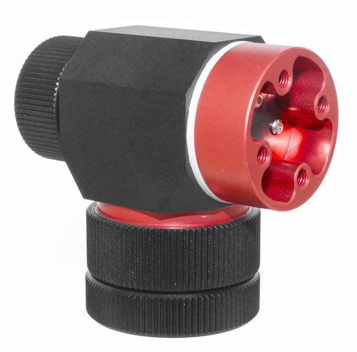 Montatura altazimutale da viaggio TS per treppiedi fotografici ed astronomici - carico utile fino a 6 kg
