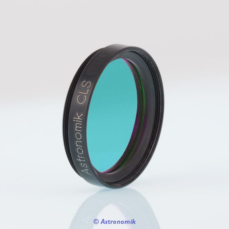 Filtro Astronomik CLS da 31,8mm montato in cella