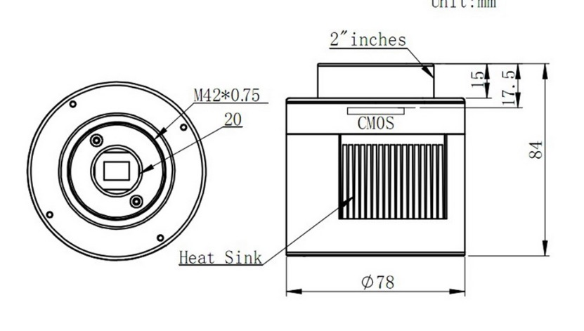 ASI 174 MCC specifiche tecniche