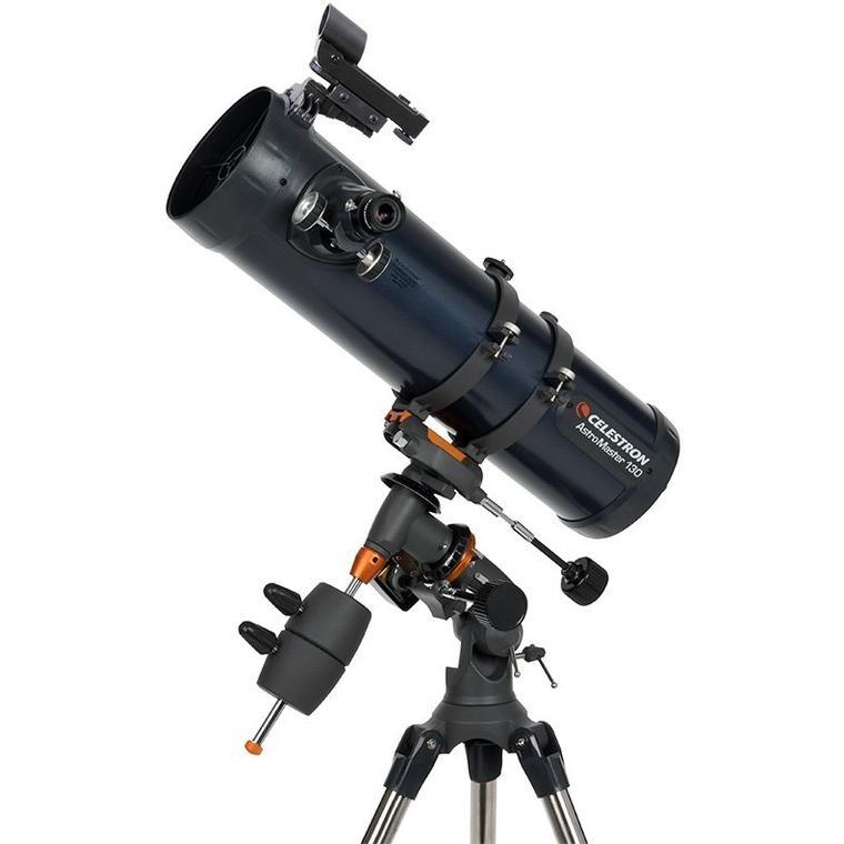 Telescopio Newton Astromaster da 130mm e montatura equatoriale completo diMOTORE di AR