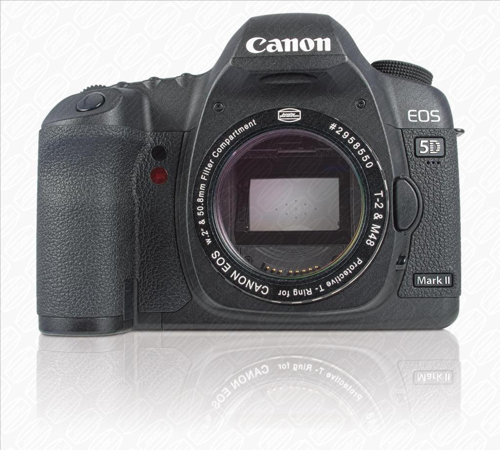 Baader Protective Canon DSLR T-Ring with Clear Filter to protect the sensor [EN]
