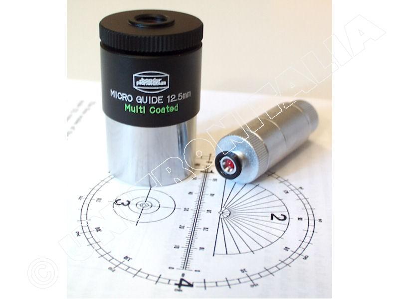 Baader Oculare Micro Guide f.12,5mm MC d.31,8mm (con illuminatore incluso. Version LOG-PO nero BP2404305)