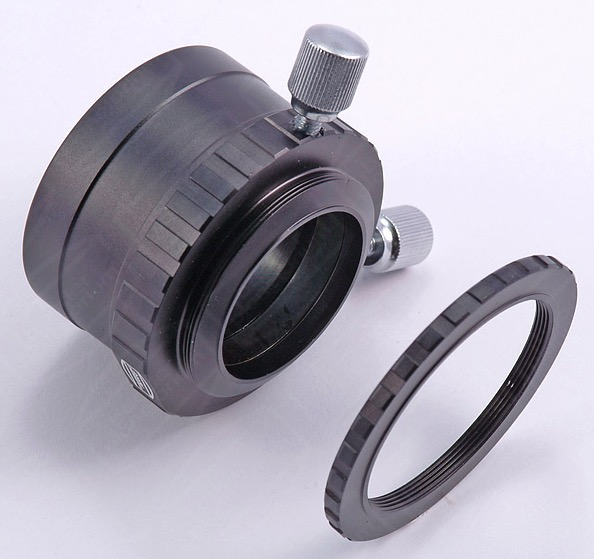 Riduttore da 50,8mm a 31,8mm con filettature T2 e serraggio ad anello