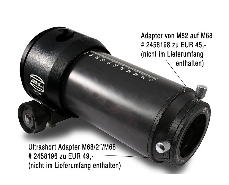 "Focheggiatore Hyperion da 3"" per rifrattori - corsa di 130 mm- riduzione 1:10"