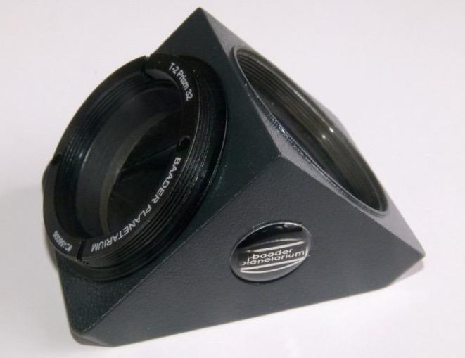 Diagonale Prismatico a 90° con filettatura T-2 - 32 mm per l'utilizzo con la torretta binoculare Maxbright