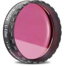 """Filtro U (Ultravioletto) da 1¼"""" (31.8mm), non fotometrico. Ideale per riprendere le nubi di Venere"""