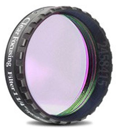 """Filtro C (Clear) da 1¼"""" (31.8mm), con cella a basso profilo, ideale per proteggere sensore ed oculari dalla polvere (no IR-cut)"""