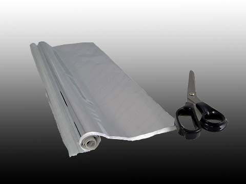 Pellicola Turbo Film formato 127x51cm. Base non trattata (uncoated) dell filtro solare Astrosolar.