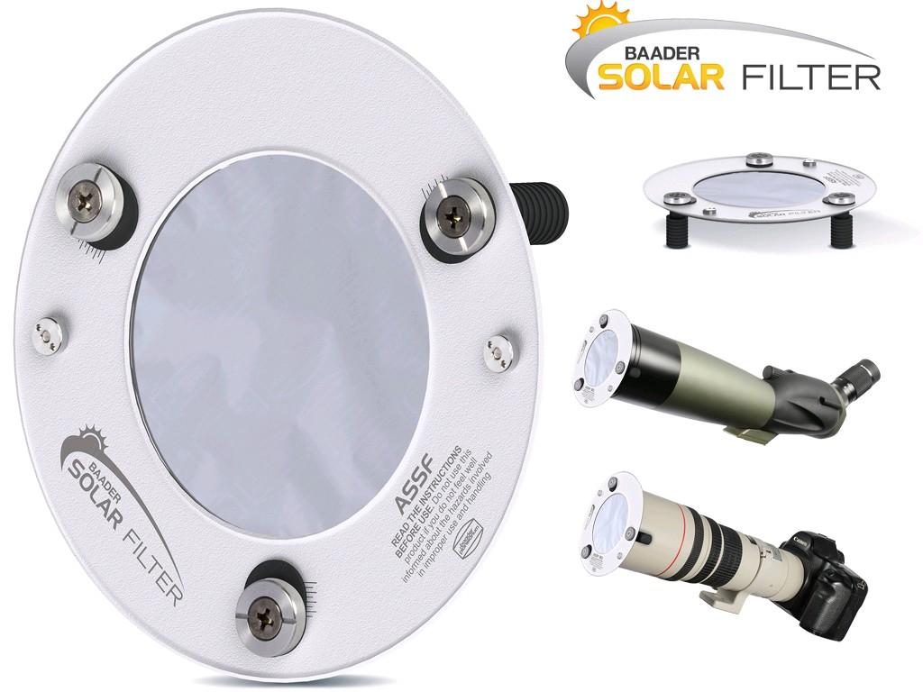 Filtro solare Baader ASSF per cannocchiali terrestri e teleobiettivi fotografici - diametro 130mm