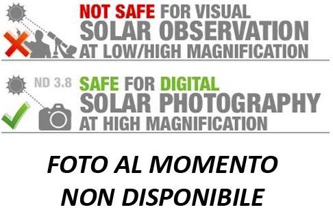 Filtro Solare Digitale per Telescopi - diametro 80mm (pellicola Astrosolar 3.8 - SOLO USO FOTOGRAFICO - VIETATO USO VISUALE)