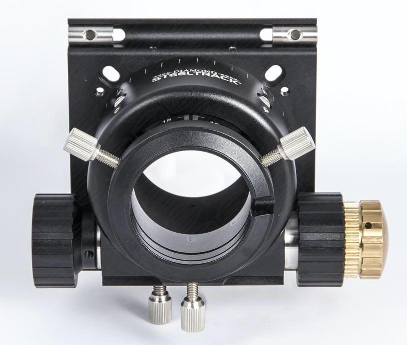 """Focheggiatore Baader Diamond Steeltrack® BDS da 2"""" per telescopi Newton. Escursione utile 40mm. Inclusa flangia universale"""