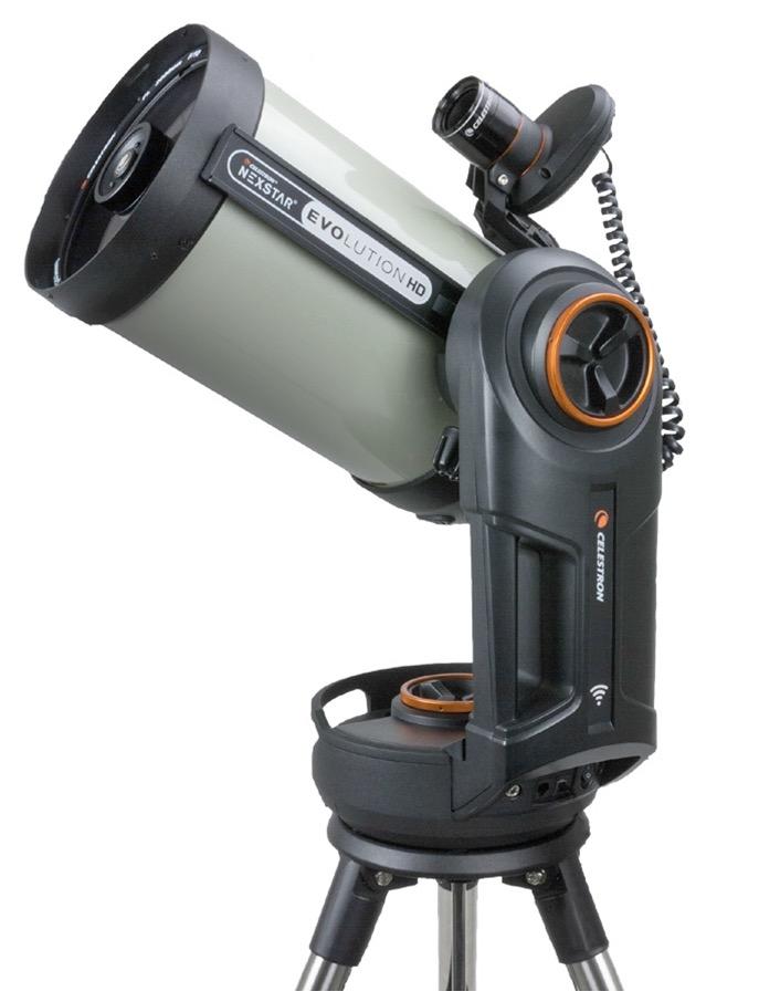 """Telescopio Schmidt-Cassegrain Edge HD 8"""" su montatura altazimutale computerizzata NexstarEvolution con Star Sense"""