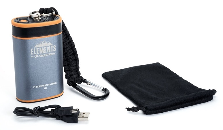 Thermocharge 10: Nuovo 2 in 1 di casa Elements® batteria portatile e scaldamani