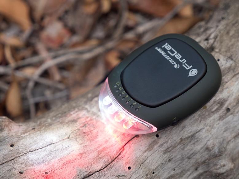Firecel:Nuovo 3 in 1 di casa Elements® batteria portatile, scaldamani e torcia LED bianca e rossa